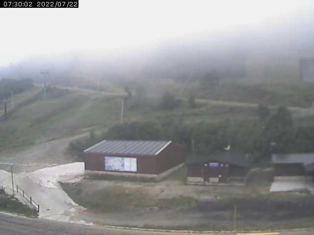 Webcam en Base Estación 1.520m.